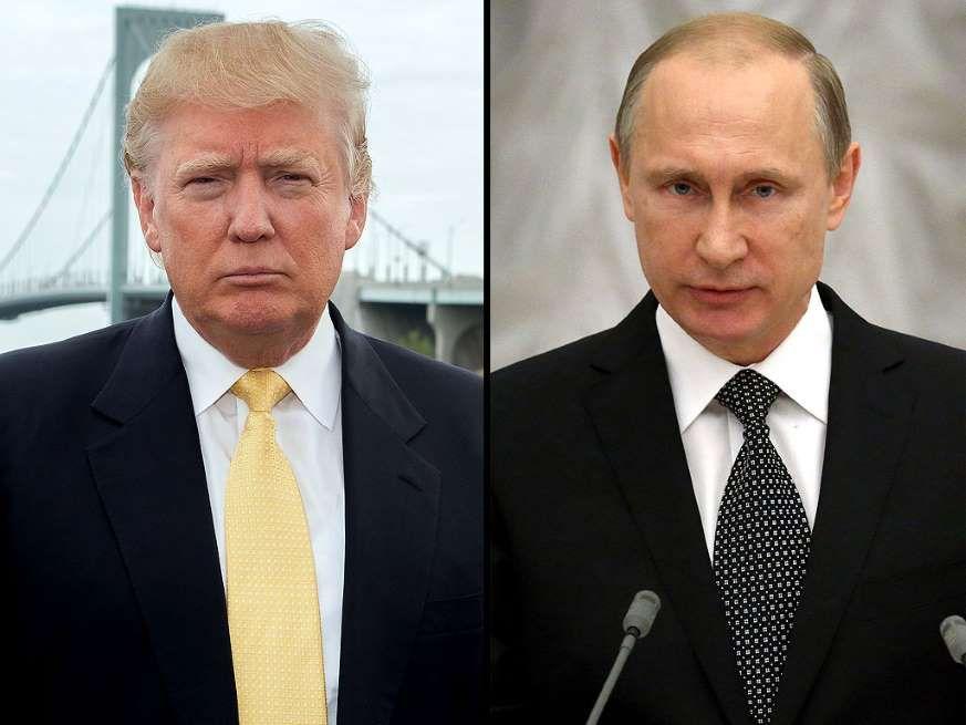 Donald Trump e Vlaumir Putin insieme contro l'ISIS
