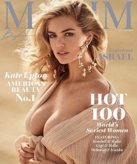 Kate Upton è la più sexy del mondo per Maxim Hot 100... tutta nuda nel deserto