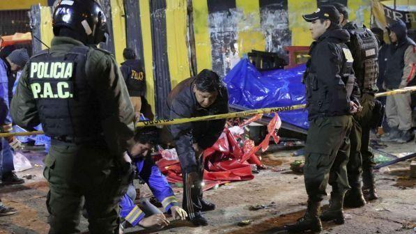 Bolivia - bombola di gas esplode durante sfilata di Carnevale : Morte 6 persone, 25 i feriti