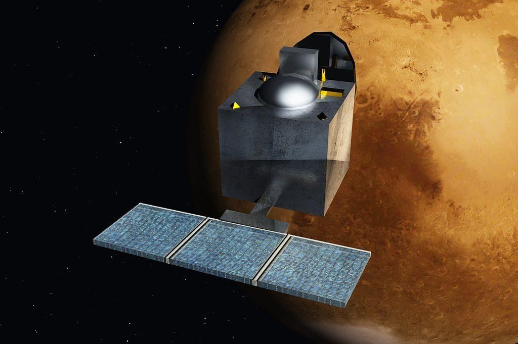Rilasciato il primo set di dati della missione Mars Orbiter Mission (MOM)