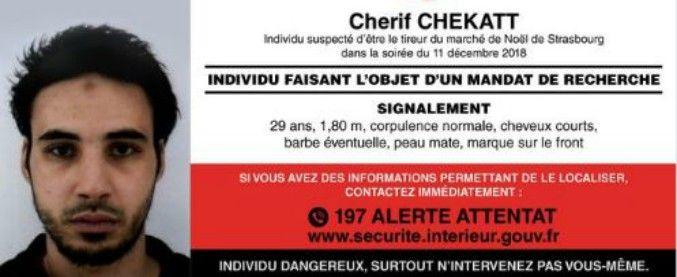 Amen, non sentiremo la sua mancanza! L'attentatore di Strasburgo Cherif Chekatt ucciso in un blitz