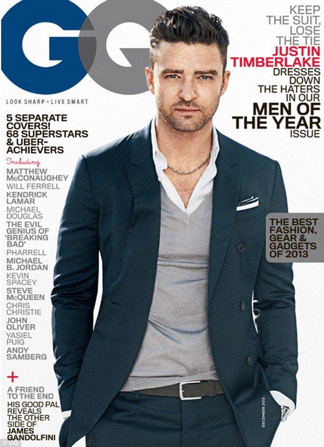 Justin Timberlake è l'uomo dell'anno per GQ
