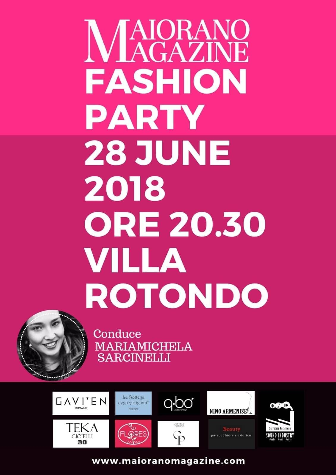 Bari, Fashion Show e glam party per il Maiorano Magazine