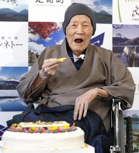 Masazu Nonaka! muore a 113 anni l'uomo più anziano al mondo