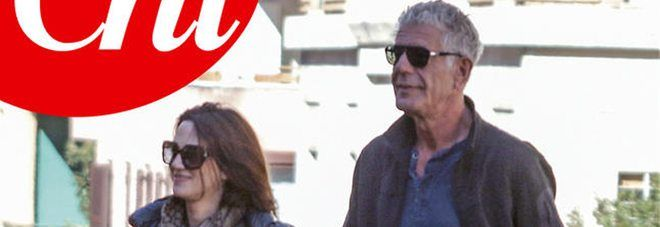 Asia Argento con lo chef Anthony Bourdain : 19 anni di differenza