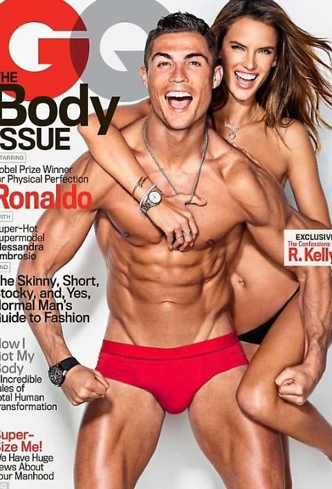 Cristiano Ronaldo e Alessandra Ambrosio perfetti su GQ