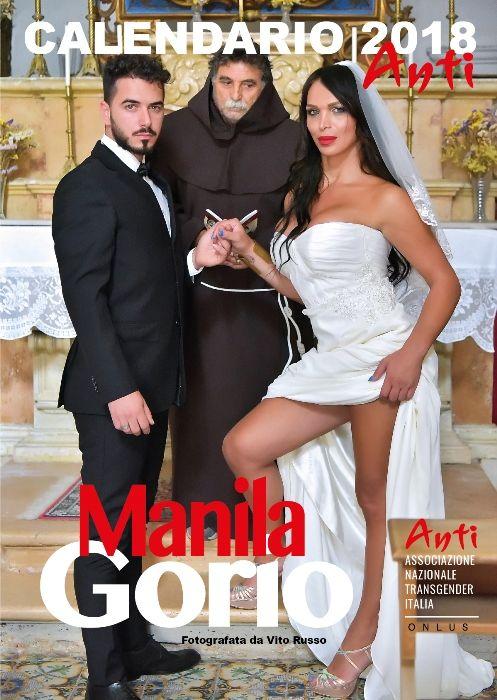 Calendario 2018 di Manila Gorio contro la transfobia e a favore dei diritti dei transessuali