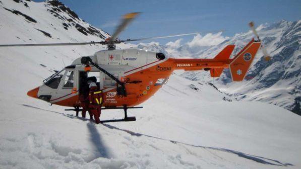 Val d'Ossola : Valanga travolge sci alpinista