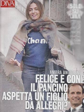 Ambra Angiolini è incinta - L'attrice aspetta un figlio da Massimiliano Allegri?