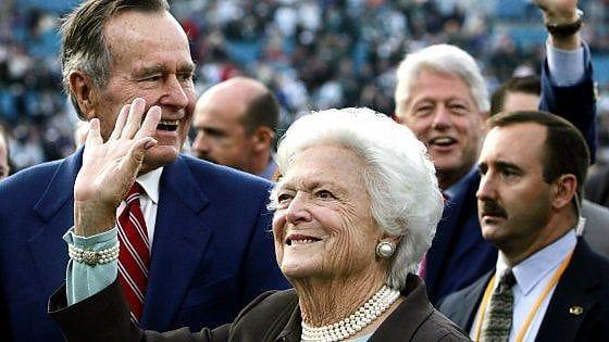 Stati Uniti : E' morta a 92 anni l'ex first lady Barbara Bush