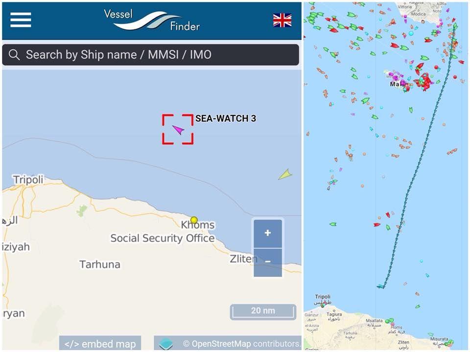Migranti : Altra nave Ong in mare, ma Salvini dice no!