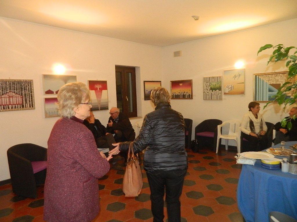 La mostra Accadimenti ed Inquietudini della pittrice Rita Delle Noci a Formia
