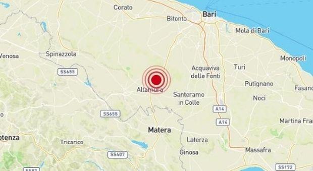 Terremoto magnitudo 3.5 in Puglia avvertito a Bari, Lecce e Taranto