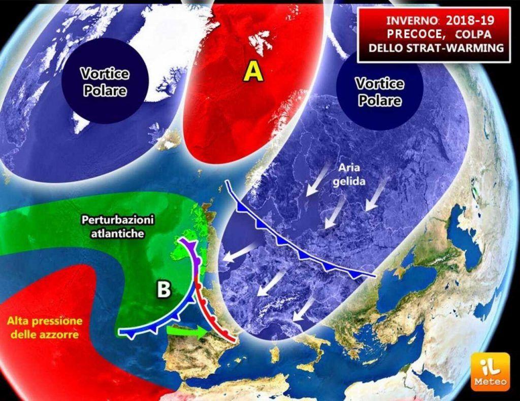 Neve, freddo e gelo! Previsioni Meteo 16/19 Gennaio, allerta maltempo