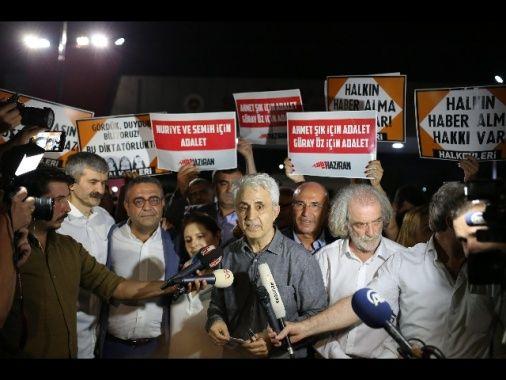 Istanbul rilascia 5 reporter turchi