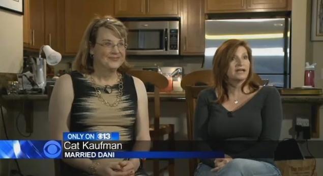 David Kaufman : Lui diventa transgender, la moglie lesbica