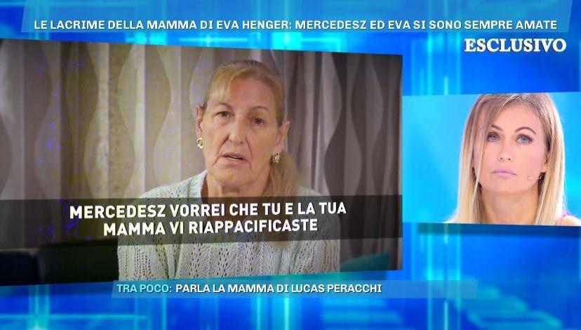 Facciamo pace! Eva Henger in lacrime per la figlia Mercedesz
