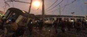 Treno deraglia a Milano : 50 feriti, 5 gravi e 2 morti
