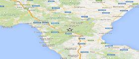 Terremoto Basilicata : Scossa sul Pollino magnitudo 2.2