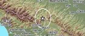 Terremoto Oggi : Sciame sismico Appennino Tosco-Emiliano : Registrate più di 20 scosse