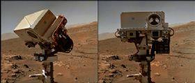 Un saluto da Marte! Due nuovi autoritratti per il book fotografico di Curiosity