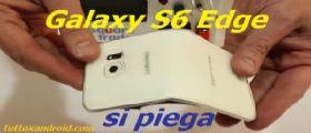Il Samsung Galaxy S6 Edge si piega peggio dell