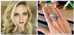Un anello da 50mila euro! Il regalo esagerato di Fedez per Chiara Ferragni