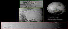 Alla scoperta dei crateri di Plutone