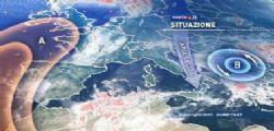 Maltempo - Meteo Oggi : di nuovo aria gelida nel weekend