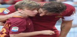 Francesco Totti saluta la Roma