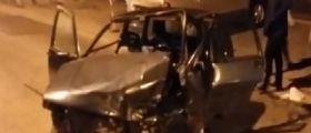 Pagani (Salerno) : Auto guidata da ucraino si schianta su altre vetture
