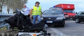 Portogruaro : disabile in carrozzina investita  da un