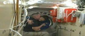 Inizia la missione Futura: Samantha Cristoforetti arriva sulla ISS