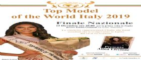 Top Model of the World Italy 2019 e Top Kids Model Italy 2019: le finali in Puglia il 15 dicembre