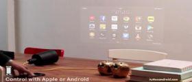 Beam : il Proiettore Android sfornato dal laboratorio KickStarter (Caratteristiche e prezzo)