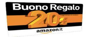 Amazon regala 20 € con ordine di almeno 50 euro: Scopri il trucco!