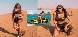 Già fa caldo! Cristina Buccino bollente a Dubai e alle Maldive