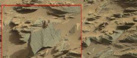 Marte, le foto della Nasa smentiscono gli esperti : Sul suolo del Pianeta uno scorpione alieno