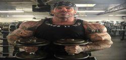Il bodybuilder Rich Piana in coma per overdose di anabolizzanti