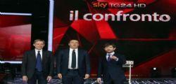 Confronto Primarie PD : Gianni Cuperlo, Matteo Renzi e Pippo Civati