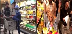 Fedez e la festa a sorpresa in un supermercato ... Quanto è costata?