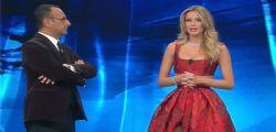 Sanremo 2017 : Bellissima Diletta Leotta sul palco del festival