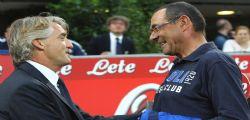 Lite Roberto Mancini Maurizio Sarri : scuse accettate