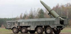 Allerta Nato : Mosca schiera missili balistici a Kaliningrad