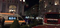 Roma : crolla scala mobile nella metro Repubblica VIDEO