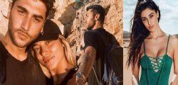 Belen Rodriguez felice per Jeremias e Soleil Sorge ad Ibiza