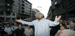 L'ultima proposta di Beppe Grillo : Un mondo senza carceri