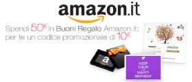Buono Amazon di 10 euro GRATIS : tante idee di acquisto