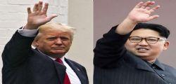 Corea Nord - Kim Jong-Un : Donald Trump ci sta portando sull