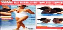 Ammazza! Cristina Parodi con il seno al vento a Formentera